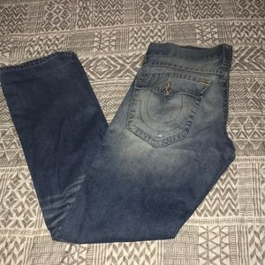 True religion ripped jean